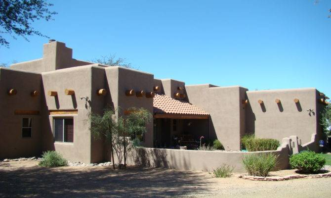 Modular Adobe Style Home Home Style