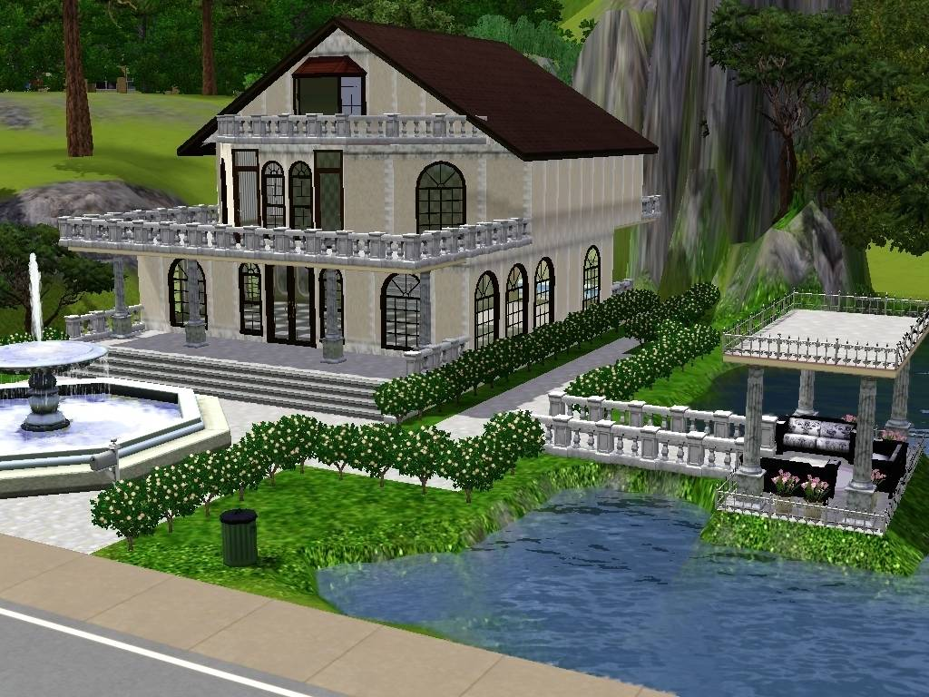 House Designs For Sims - The Sims Social House Design 4 ...