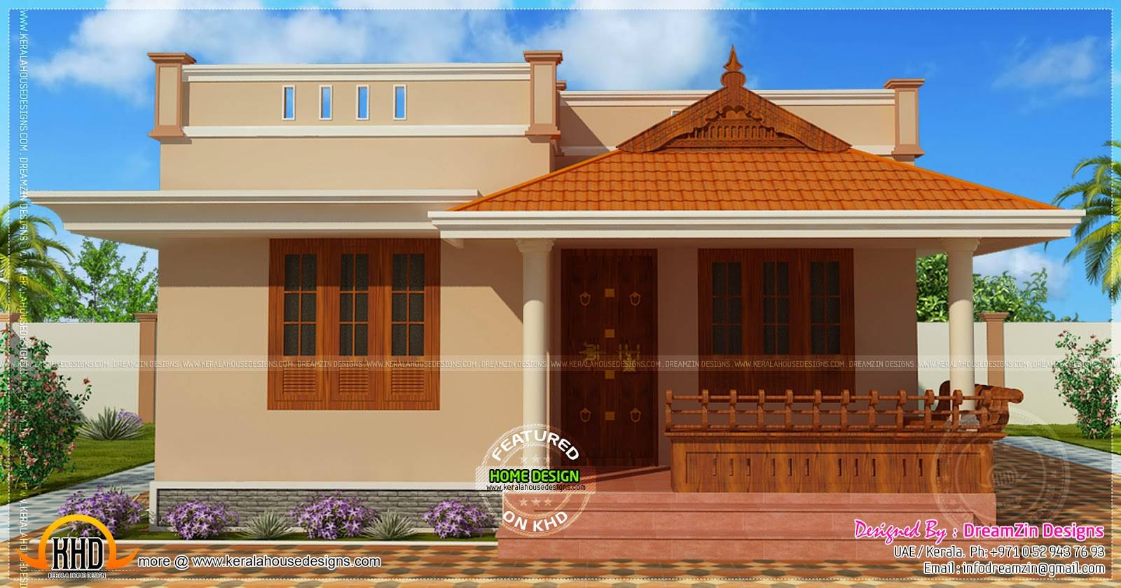 Awe Inspiring Alfa Img Showing Small Kerala House Model House Plans 53315 Largest Home Design Picture Inspirations Pitcheantrous