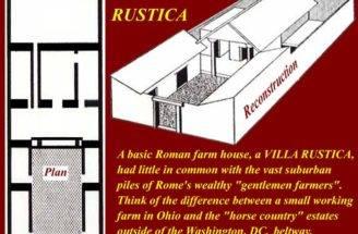 Ancient Roman Villa Floor Plans House Design