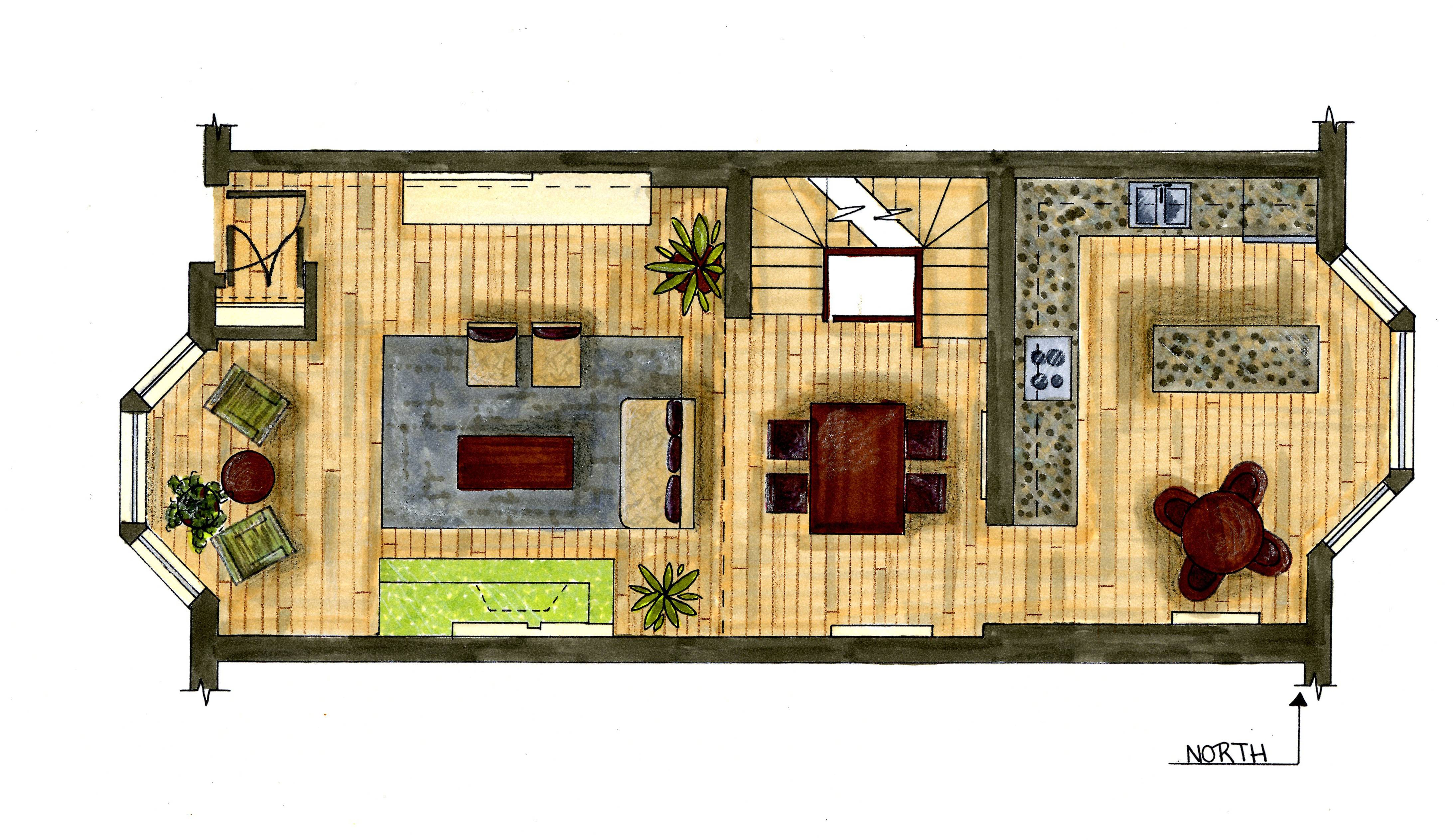 beautiful apartment floor plans designs contemporary - butuan