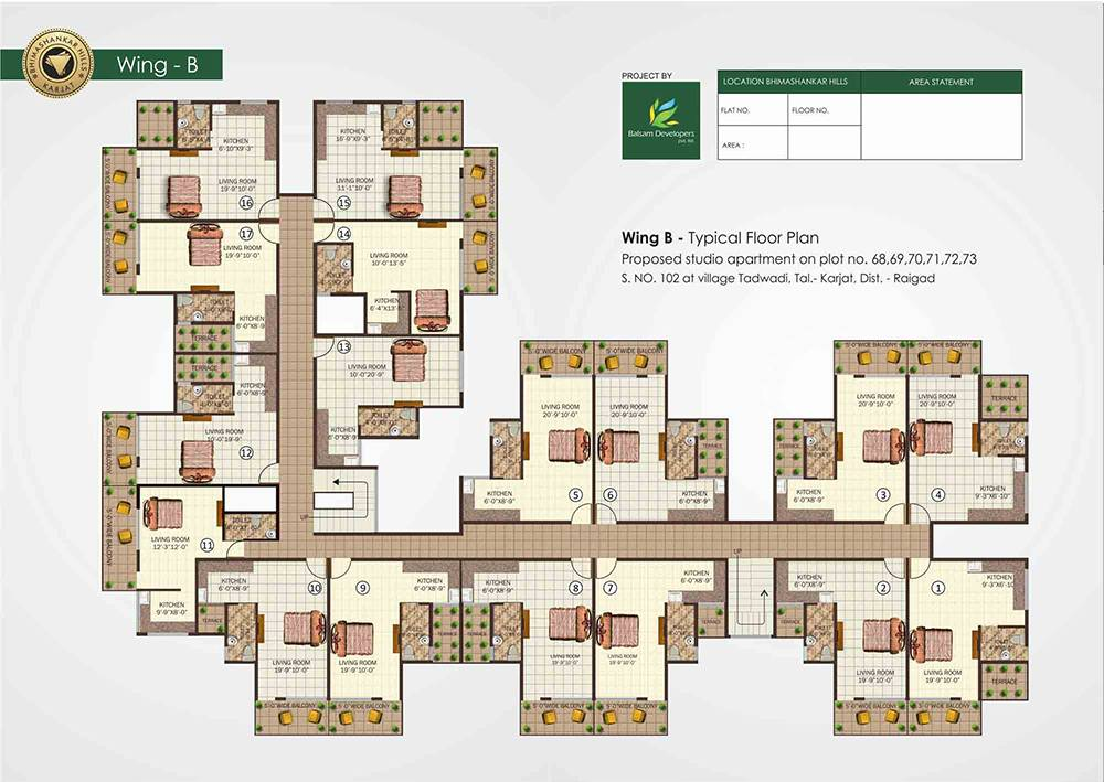 Studio Apartment Floor Plan Singapore
