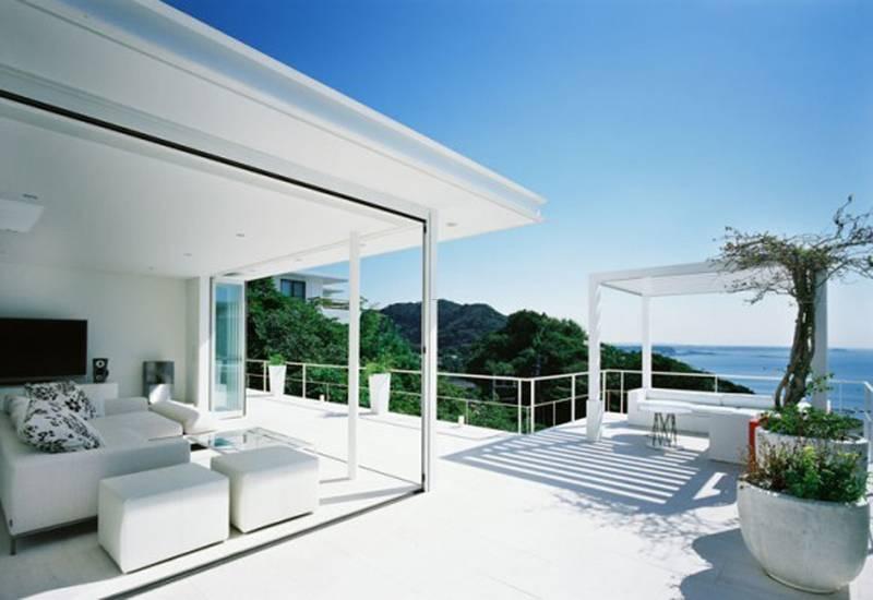 rchitecture House New Jersey Modern Near Sea Single - House Plans ... - ^