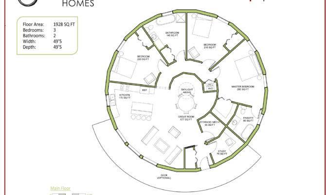Round Home Designs home decor Mrsilvaus – Circular Homes Floor Plans