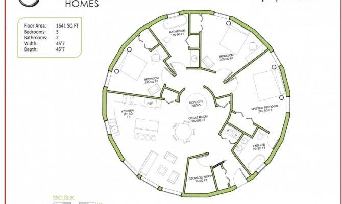 The 22 Best Round Homes Floor Plans House Plans 24349