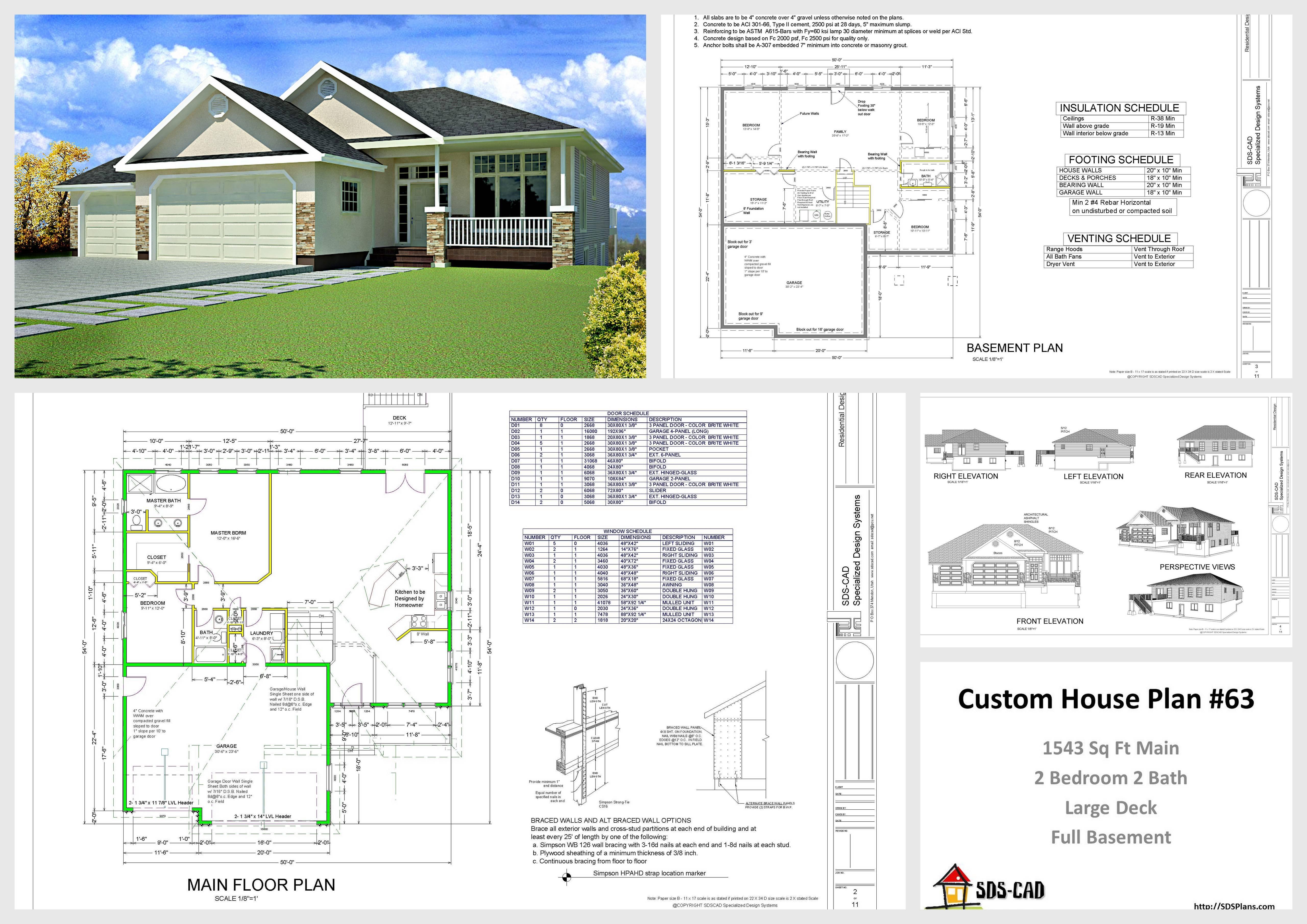 Cad Home Plans