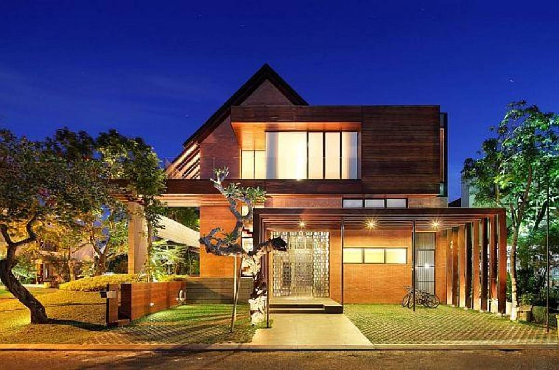 tropical house plans – modern house