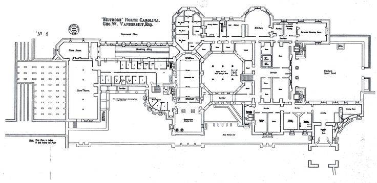 Back Biltmore Estate Floor Plan House Plans 79077
