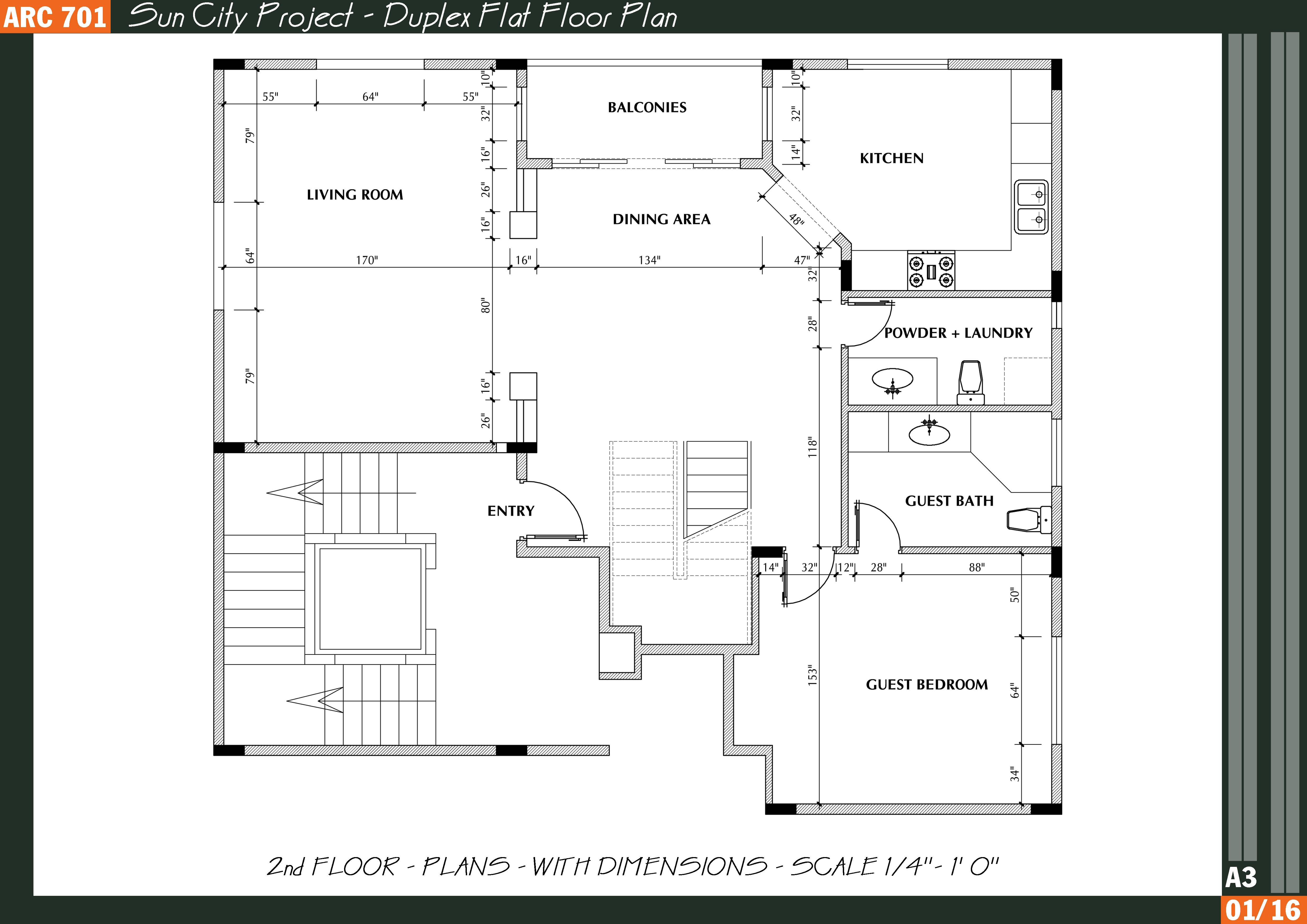 Residential house plans in india
