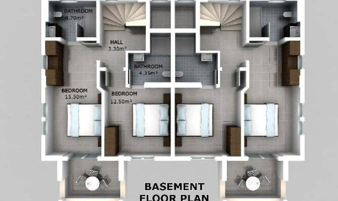 basement apartment floor plans rooms learning proper basement apartment floor plans