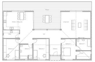 Beach House Plan Plans