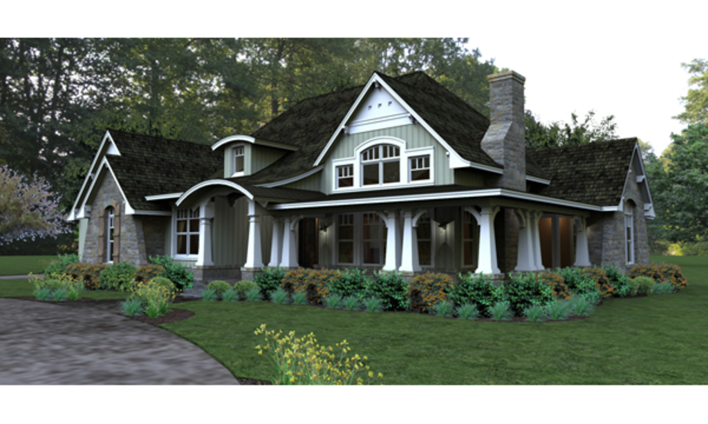 Custom Craftsman Home Plans Plan