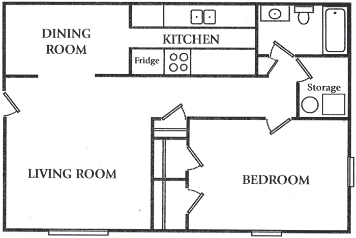 one bedroom apartment floor plans- universalcouncil