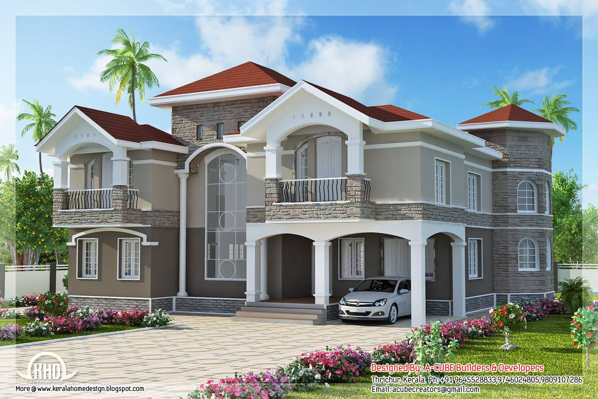 New Design Home Pictures Part - 18: Home Designs In India With Fine House Designs Indian Homes Awesome