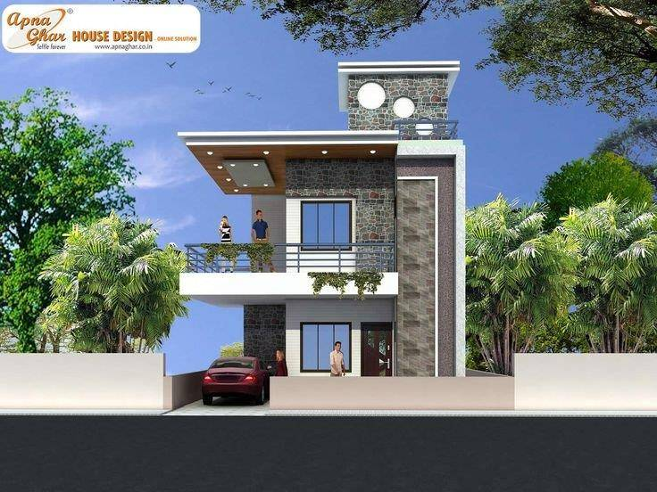 modern duplex house plans in nigeria