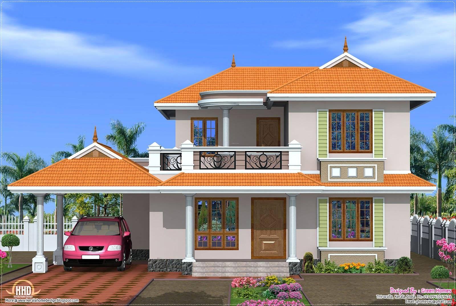 House plans designs kerala model