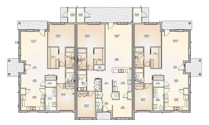 Triplex House Plans 9 bedroom house plans