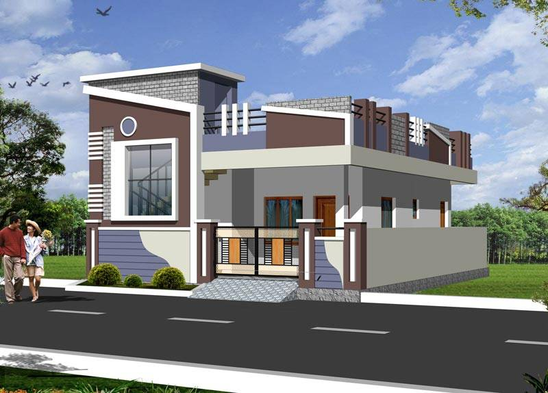 Individual House Elevation Designs In India House Design - House design elevation photo