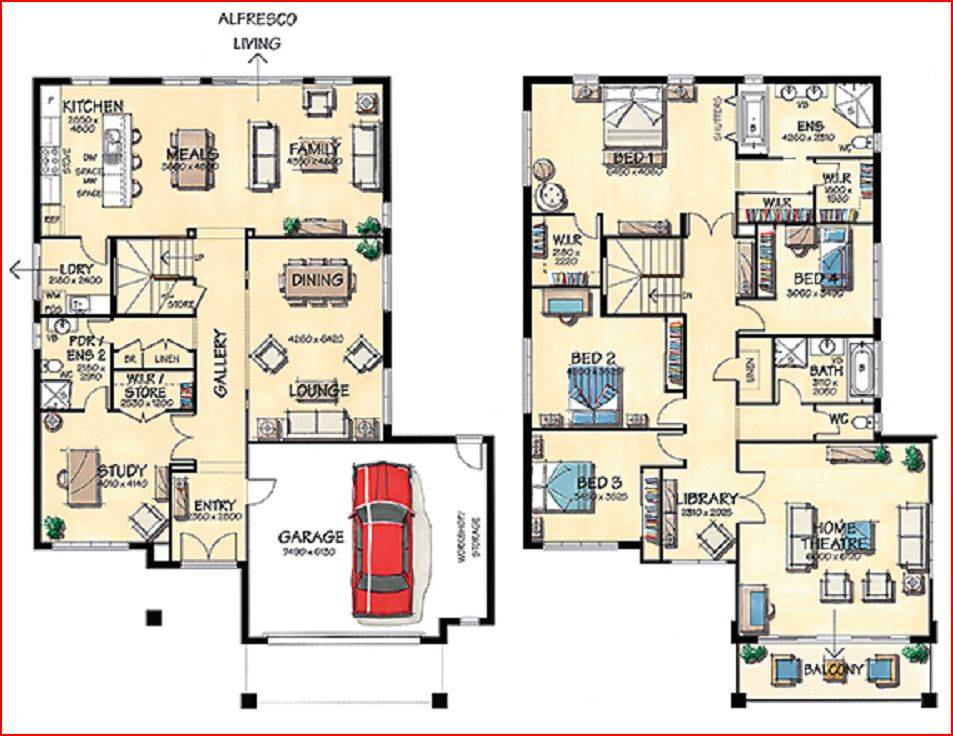 Big House Plan Designs Floors Big Free Printable Images House