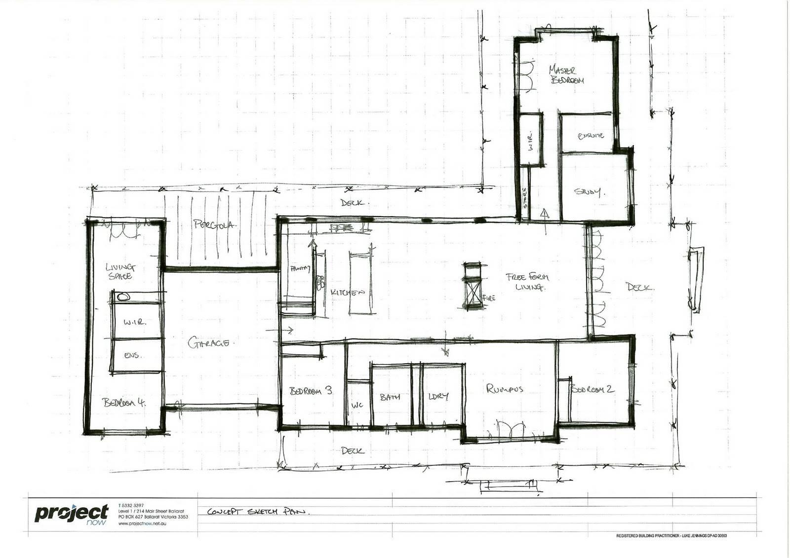 Bit Sketch Idea Our House Plans 246312 Floor Plan Rendering Drawing Hand 8 On Floor Plan Rendering