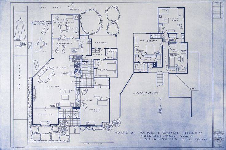 Brady Bunch House Layout Part 43