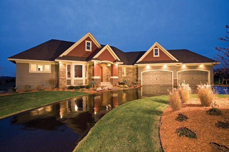 Brick Homes Stone Accents Pinterest Pin House Plans 72516