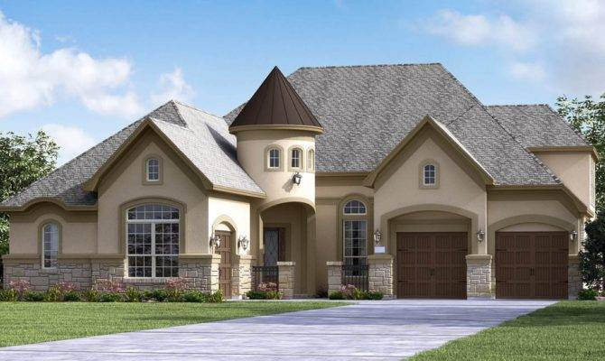 17 Stucco And Stone Houses Ideas House Plans 50843
