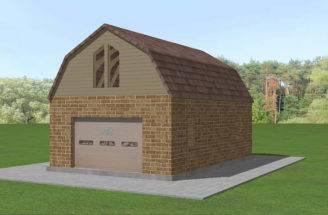 Build Gambrel Roof Steps