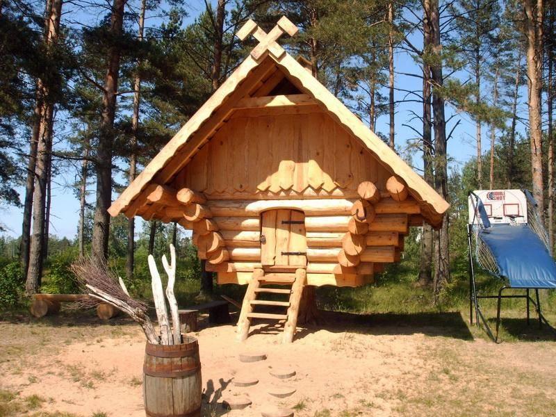 build log cabin small