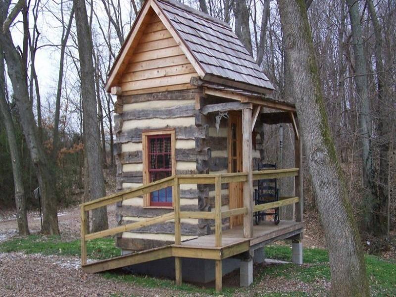 build log cabin timber frame