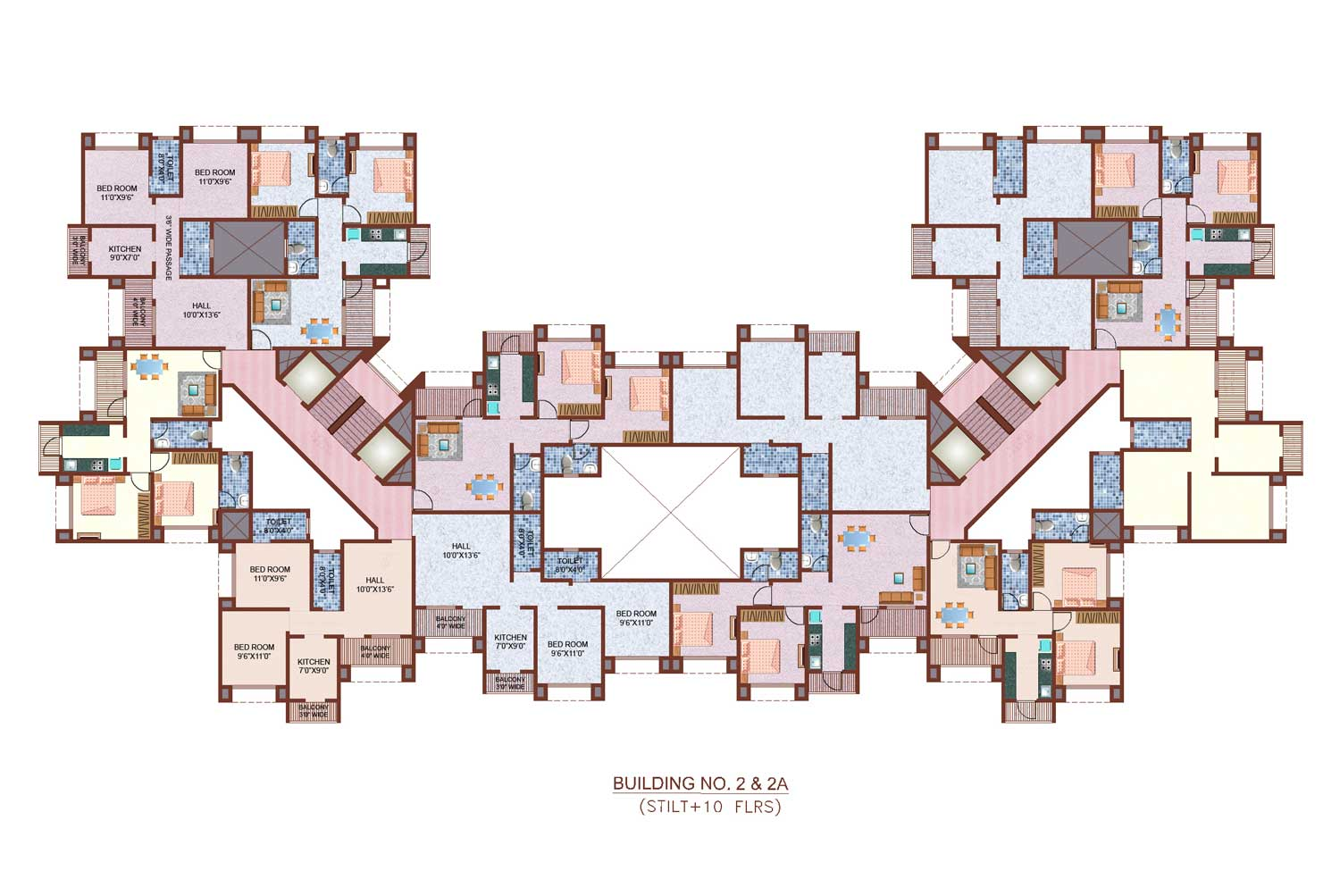 Residential Floor Plans Modern House