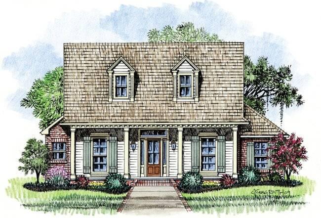 Mesmerizing Cajun House Plans Pictures - Plan 3D house - goles.us ...
