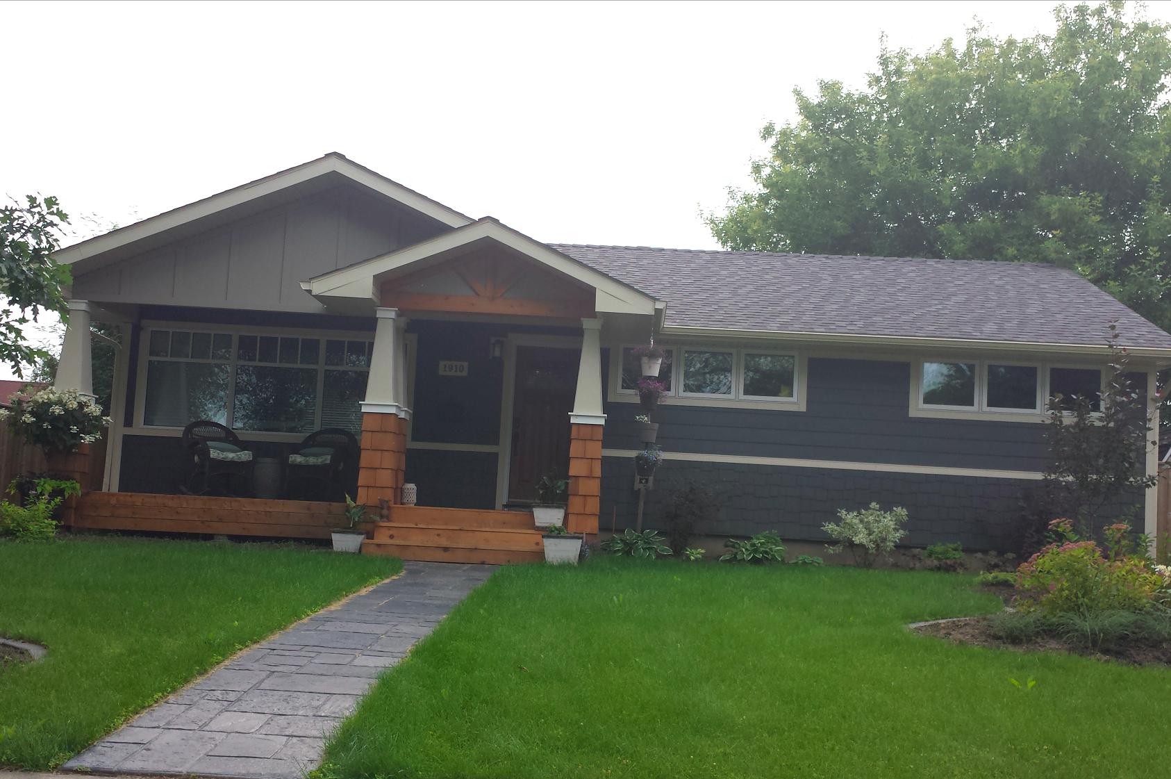 Cape cod front porch ideas - Cape Cod Porch Style Bungalow Front Entrance Design Walkw