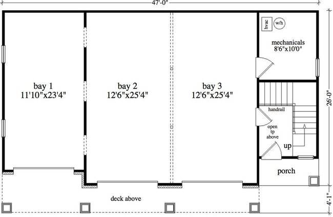 Detached garage floor plans design lesitedeclaudiacom Garage layout planner