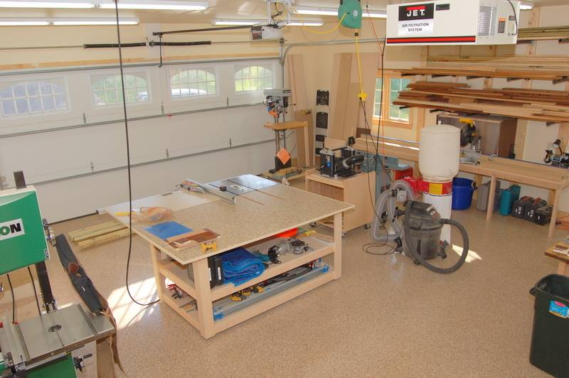 Creative Shop Layout On Pinterest Workshop Woodworking