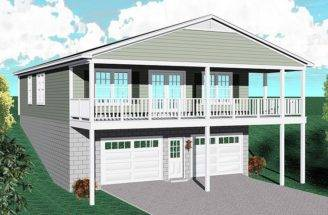 Carriage House Plans Plan Sloping Waterfront