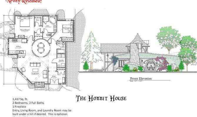 Hobbit House Plans Lord Of The Rings Hobbit House Floor Plans ...