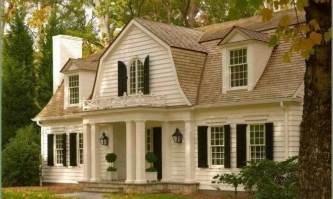 16 Photos And Inspiration Dutch Colonial Style House House Plans