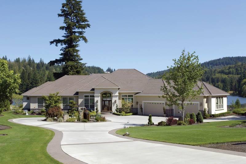 Contemporary Ranch House Designs House Design