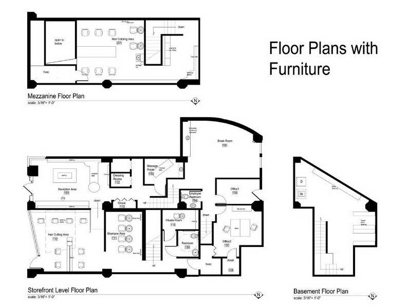 Create Beautiful Salon Floor Plans House Plans 17664