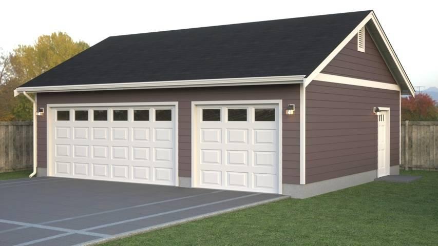 Image  1 of 24  click Image to enlarge. Custom Garage Layouts Plans Blueprints True Built Home   House