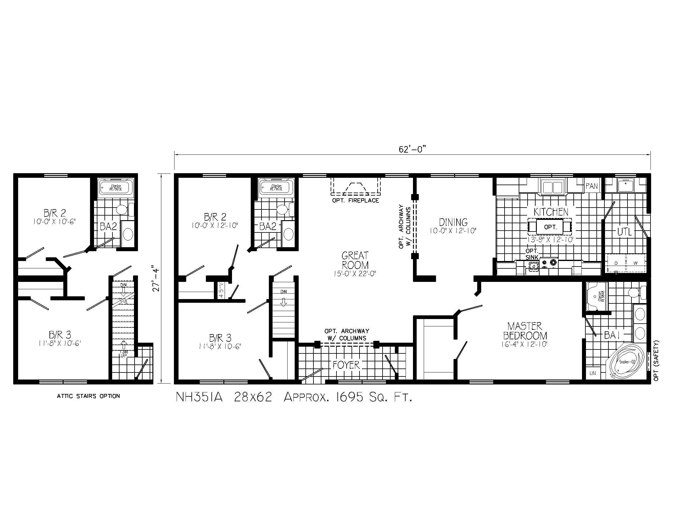 ustom Open Floor House Plans - ^