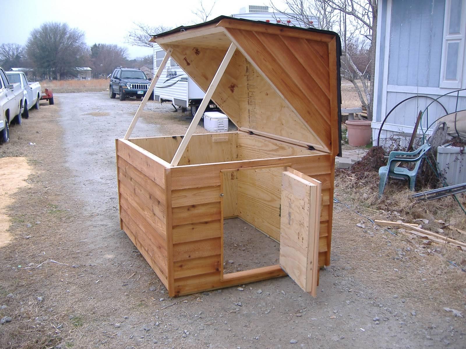 Custom Well Pump Houses Heated Insulated Dog House House