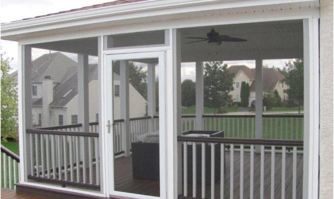 deck designs screened porches