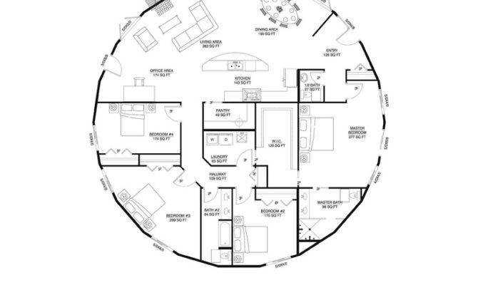 Inspiring round home plans 11 circular house floor