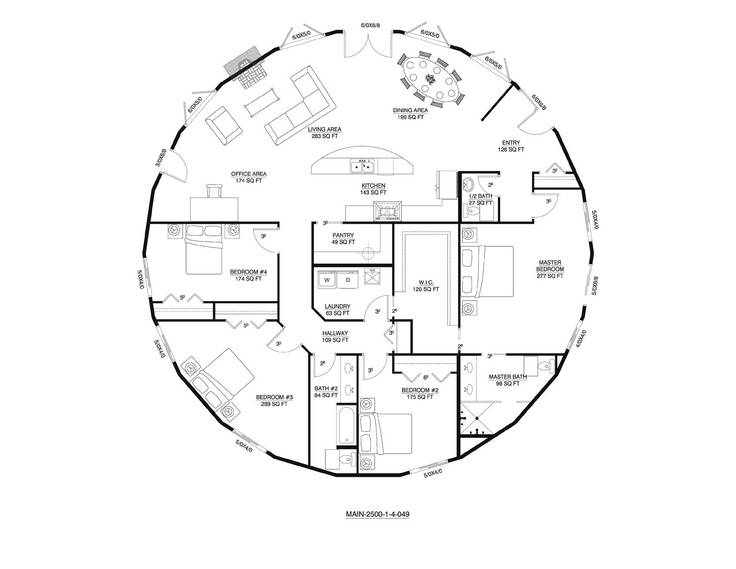 Deltec Floor Plan Round House Home Pinterest House Plans 22022
