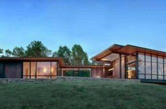 Design Exterior Piedmont House Contemporary Lake Defined