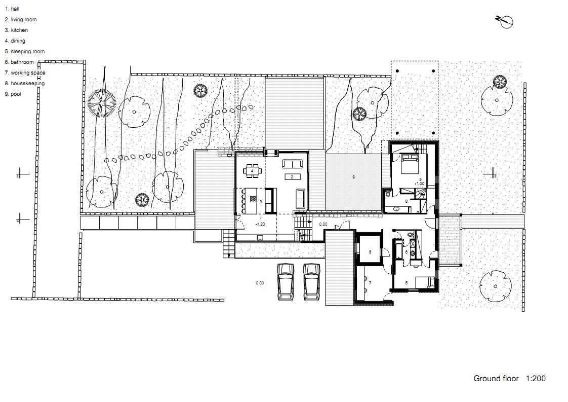 Modern Hotel Design Plans