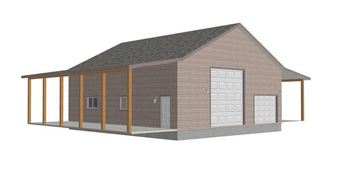 Log garages loft quotes garages lofts garage loft hoist Garage designs with loft