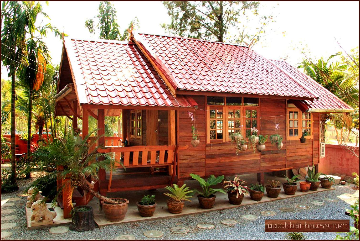 Miraculous Thai Style Wooden House Plans Design Care House And Home Largest Home Design Picture Inspirations Pitcheantrous